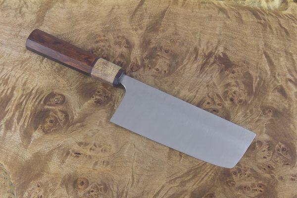 4.69 sun High Grade Nakiri, Custom Handle - 156 grams