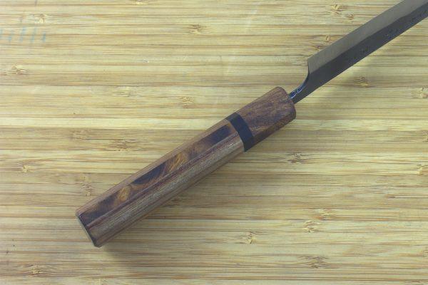 6.24 sun Kuro-uchi Funayuki Knife, Hardwood / Ironwood - 130grams