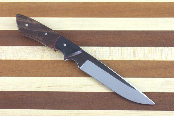 229mm Whitecrane Junior, Burl / Micarta - 118grams