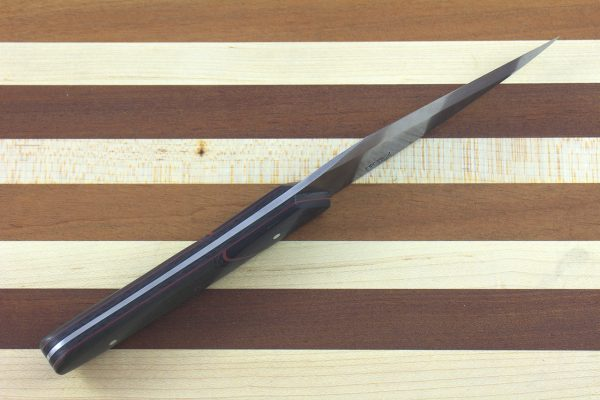250mm Freestyle Kiridashi, Micarta / Carbon Fiber - 136grams