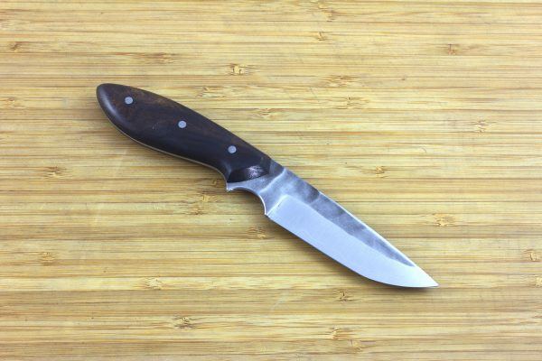 190mm Apprentice Series 'Perfect' Neck Knife #29, Thin, Ironwood - 80grams