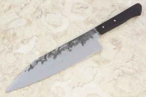 7.36 sun Stainless Fukugo-zai Series Freestyle Gyuto, Riveted Handle - 162 grams