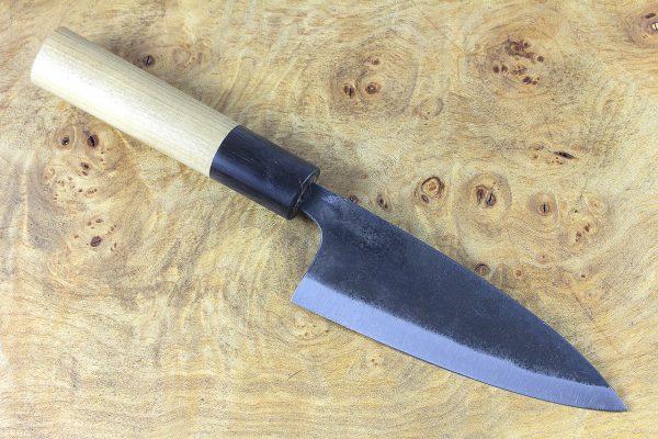 3.8 sun Kuro-uchi Series Funayuki, Traditional Handle - 84 grams