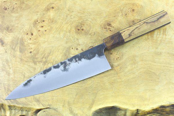 6.53 sun Kuro-uchi Series Gyuto, Custom Handle - 153 grams