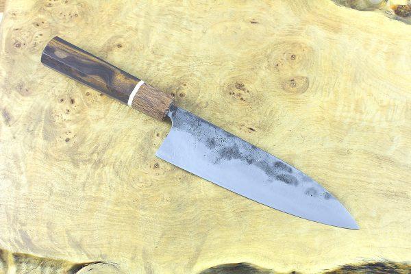 5.97 sun Kuro-uchi Series Gyuto, Custom Handle - 149 grams