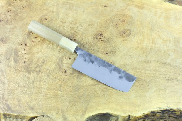 3.99 sun Kuro-uchi Series Nakiri, Traditional Handle - 82 grams