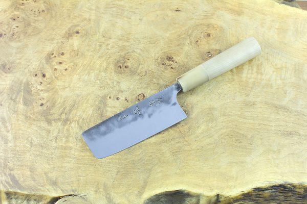 3.8 sun Kuro-uchi Series Nakiri, Traditional Handle - 73 grams