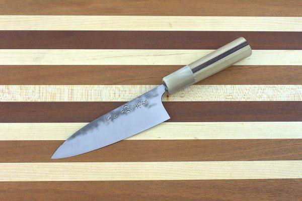 4.62 sun Stainless Fukugo-zai [polished] Funayuki, Custom Handle - 82 grams
