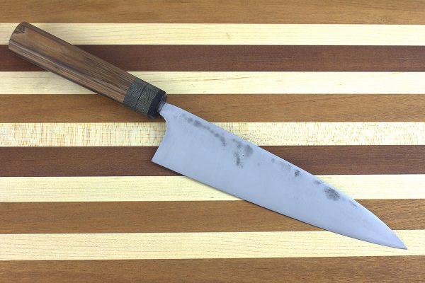 6.96 sun Stainless Fukugo-zai [polished] Gyuto, Custom Handle - 169 grams