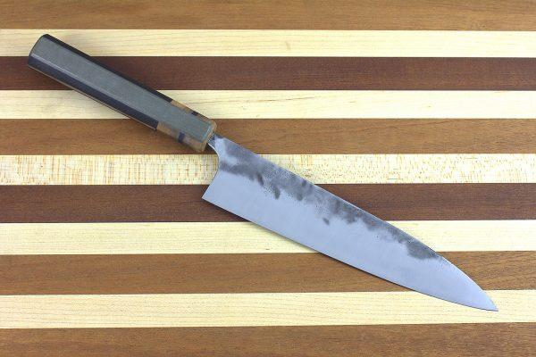 6.5 sun Stainless Fukugo-zai [polished] Gyuto, Custom Handle - 140 grams