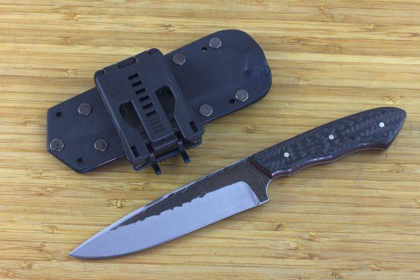 252mm FS Knife Prototype, Super Blue Steel, Carbon Fiber - 178grams