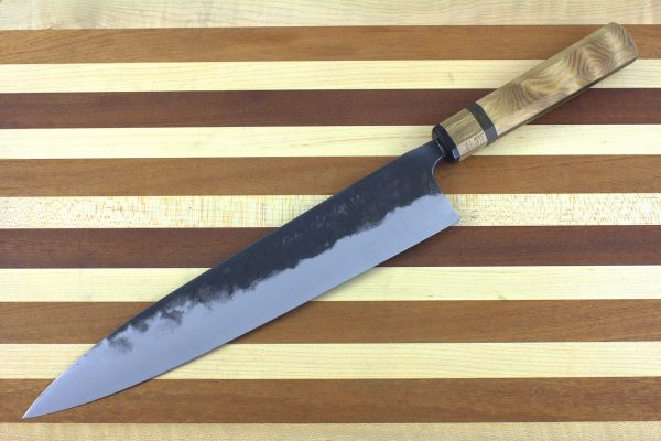 9.11 sun Kuro-uchi Series Gyuto, Custom Handle - 211 grams