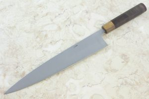 9.8 sun High Grade Series Gyuto, Walnut w/ Ipe Bolster - 221 grams
