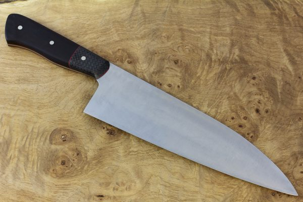 230mm International Pro Gyuto, Carbon Fiber and Ironwood, Wide - 248grams
