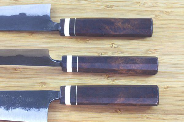5.45 sun Kuro-uchi Series Funayuki, Ironwood - 126grams