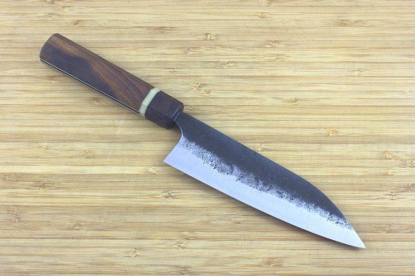 5.35 sun Kuro-uchi Wa-bocho Knife, Ironwood - 127grams