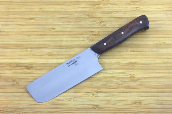 3.89 sun Muteki Series Nakiri #291, Ironwood - 117 grams