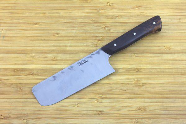 4.29 sun Muteki Series Nakiri #290, Ironwood - 129 grams