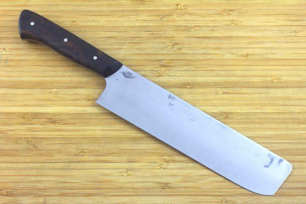6.37 sun Muteki Series Nakiri #285, Ironwood - 186 grams