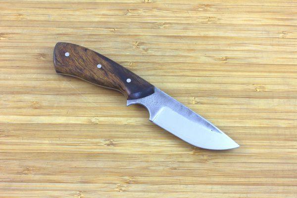 177mm Muteki Series Aviator Neck Knife #299, Ironwood - 95 grams