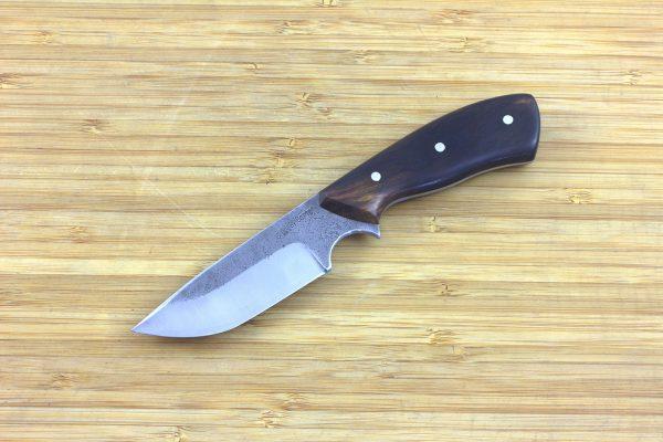 178mm Muteki Series Aviator Neck Knife #300, Ironwood - 95 grams