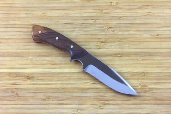 194mm Muteki Series Aviator Neck Knife #261, Ironwood - 100grams
