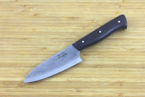 3.56 sun Muteki Series Freestyle Paring Knife #282, Ironwood - 102 grams