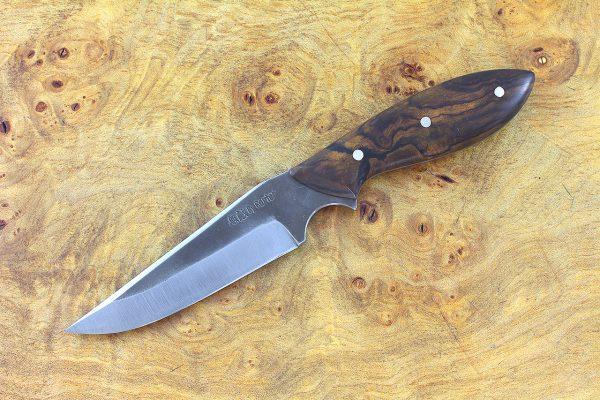 189mm Muteki Series Freestyle Neck Knife #337, Ironwood - 85 grams