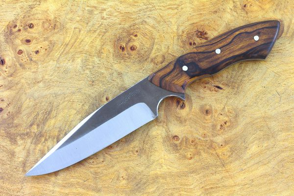 214mm Muteki Series Freestyle Neck Knife #343, Ironwood - 117 grams