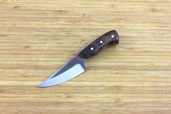 148mm Muteki Series Freestyle Neck Knife #273, Ironwood - 58grams