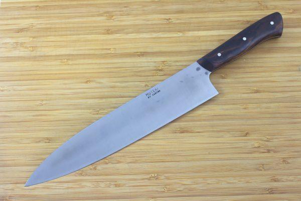 7.82 sun Muteki Series Kitchen Knife #194, Ironwood - 168grams