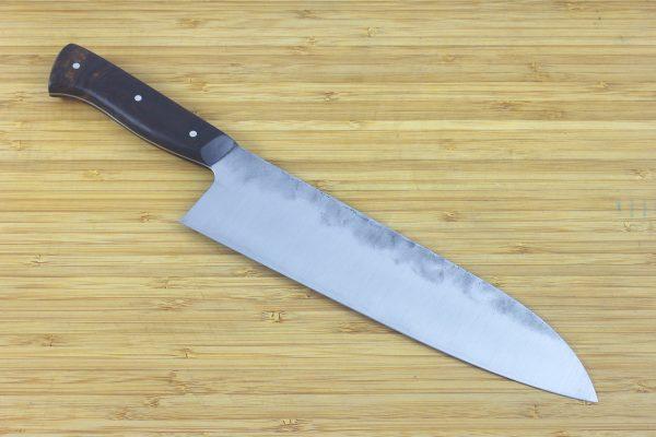 7.46 sun Muteki Series Kitchen Knife #198, Ironwood - 159grams