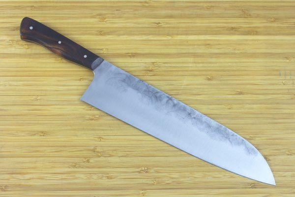 8.15 sun Muteki Series Kitchen Knife #203, Ironwood - 168grams