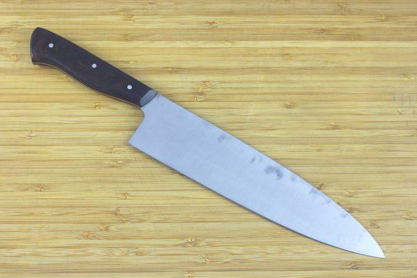 7.19 sun Muteki Series Kitchen Knife #204, Ironwood - 148grams