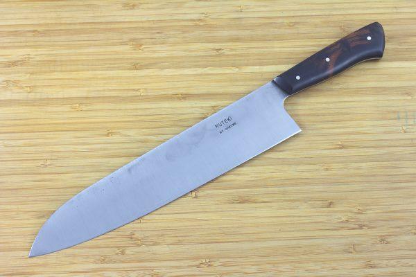 8.05 sun Muteki Series Kitchen Knife #208, Ironwood - 170grams