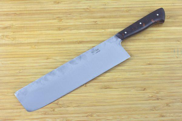 7.23 sun Muteki Series Kitchen Knife #209, Ironwood - 170grams