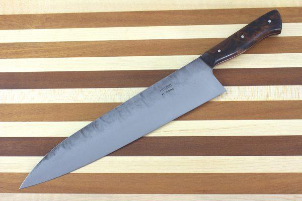 8.94 sun Muteki Series Kitchen Knife #228, Ironwood - 185grams