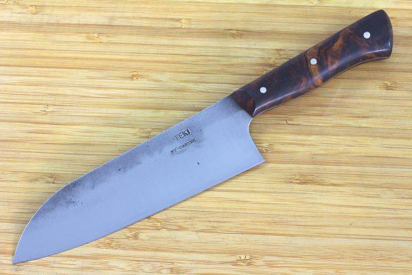 5.25 sun Muteki Series Kitchen Knife #233, Ironwood - 118grams