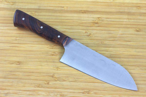 4.55 sun Muteki Series Kitchen Knife #234, Ironwood - 124grams