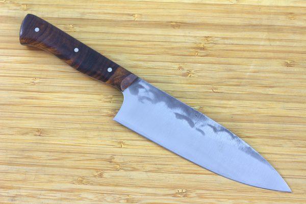 5.02 sun Muteki Series Kitchen Knife #235, Ironwood - 116grams