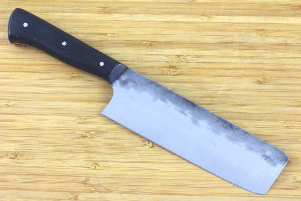 4.92 sun Muteki Series Nakiri Knife #240, Ironwood - 144grams