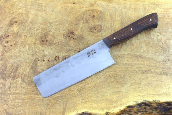 5.02 sun Muteki Series Nakiri #355, Ironwood - 208 grams