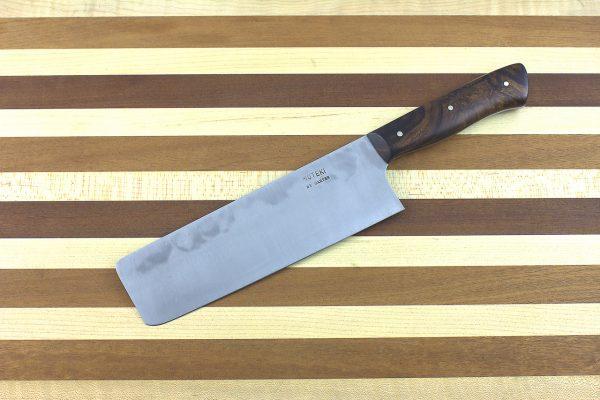 6.04 sun Muteki Series Nakiri #356, Ironwood - 238 grams