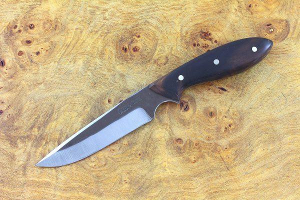 188mm Muteki Series Original (long) Neck Knife #340, Ironwood - 77 grams