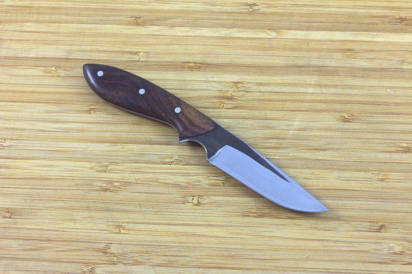 178mm Muteki Series Original Neck Knife #194, Ironwood - 64grams