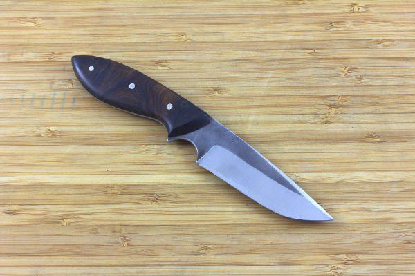 194 mm Muteki Series Neck Knife #290, 'Perfect' Model, Ironwood - 93 grams
