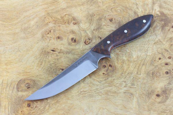 201mm Muteki Series Persian Neck Knife #176, Ironwood - 85grams