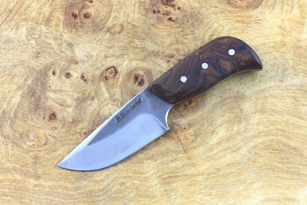 138mm Muteki Series Short and Stubby Neck Knife #207, Ironwood - 72grams