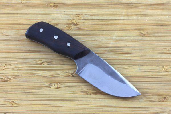 136mm Muteki Series Short 'N' Stubby Neck knife #236, Ironwood - 68grams
