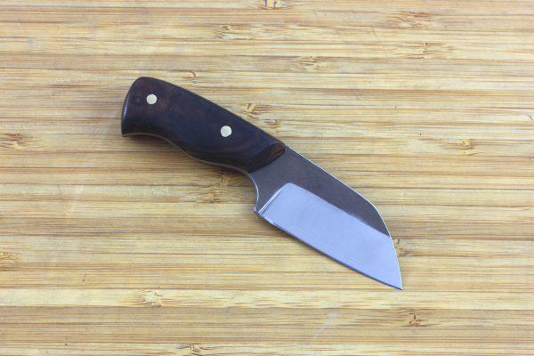 115mm Muteki Series Pipqueek Freestyle Neck Knife #276, Ironwood - 49grams